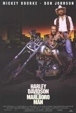 Харлей Дэвидсон и ковбой Мальборо плакаты