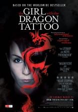 Девушка с татуировкой дракона плакаты
