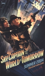 Небесный капитан и мир будущего плакаты