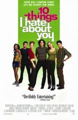 Десять причин моей ненависти плакаты