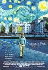 Полночь в Париже плакаты