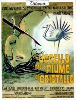 Птица с хрустальным оперением плакаты