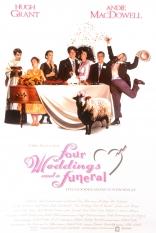 Четыре свадьбы и одни похороны плакаты
