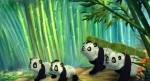 Смелый большой панда кадры