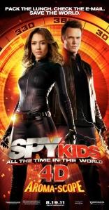 Дети шпионов в 4D плакаты