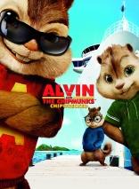 Элвин и бурундуки 3 плакаты