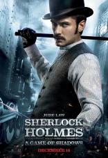 Шерлок Холмс: Игра теней плакаты