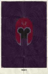 Минималистичные постеры Marvel плакаты