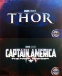 Тор и Капитан Америка