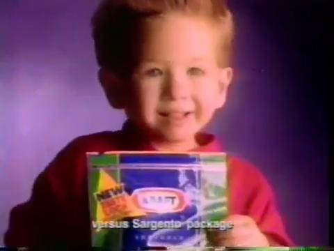 ����� ����� ������ 1992 Kraft Cheese Commercial