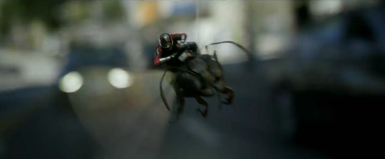 Человек-муравей и Оса Дублированный трейлер