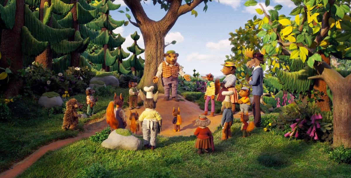 Волшебный лес Дублированный трейлер