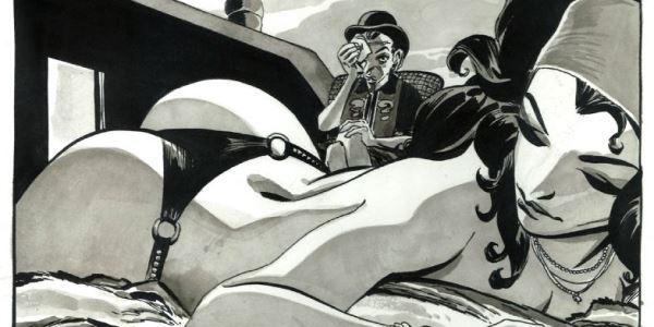 Бумажные комиксы. «Женщина-Кошка» Джефа Лоэба и Тима Сэйла: «Однажды в Риме»
