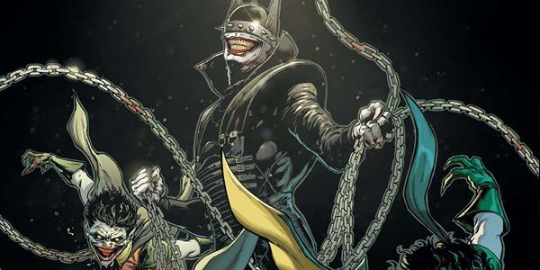 Бумажные комиксы. «Бэтмен, который смеётся» Джеймса Тайниона IV