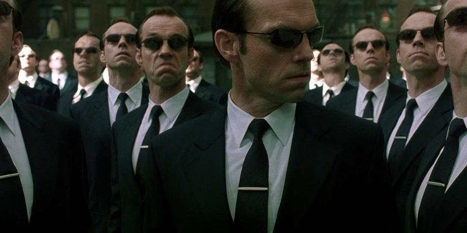 Агент Смит в «Матрице»