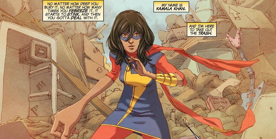 Первая супергероиня-мусульманка