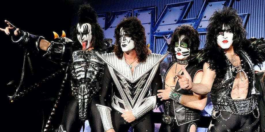 Фильм о группе Kiss выйдет на Netflix