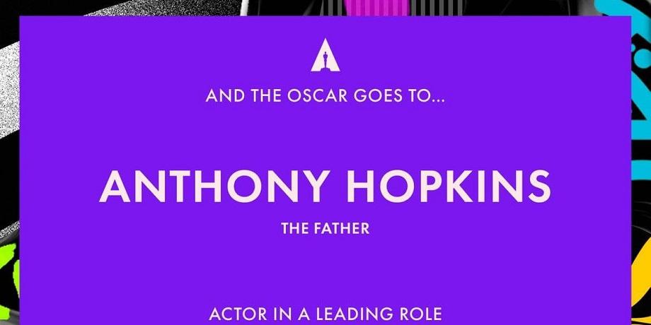 Энтони Хопкинс благодарит за Оскар