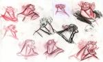 Храбрая сердцем, концепт-арты