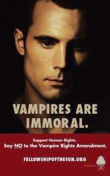 Настоящая кровь, характер-постер