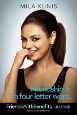 Секс по дружбе, характер-постер